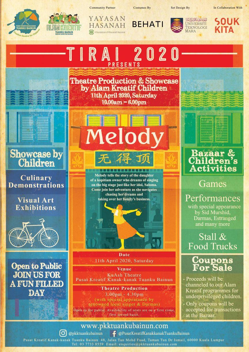 TIRAI 2020: THEATRE PRODUCTION & SHOWCASE BY ALAM KREATIF CHILDREN
